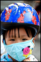 Young Motorbike Rider