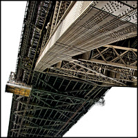 Underside of the Harbour Bridge