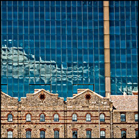 Old Warehouses and Modern Glass